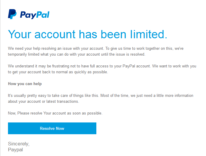 vwlowen co uk/blog » Blog Archive » Another PayPal Scam